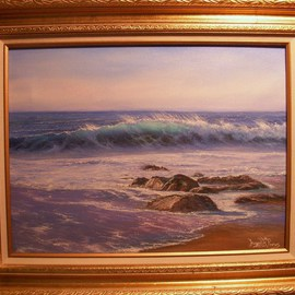 Joseph Porus Artwork Simple Pleasures, 2008 Oil Painting, Seascape