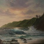 Sunset over Kauai By Joseph Porus