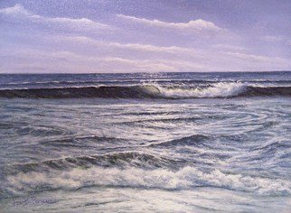 Joseph Porus Artwork Tide  Waning, 1995 Oil Painting, Marine