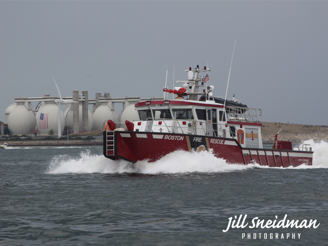 Jill Sneidman  'BOSTON RESCUE', created in 2016, Original Photography Digital.