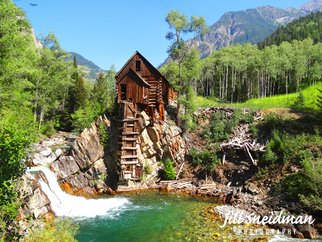Jill Sneidman: 'CRYSTAL MILL', 2016 Color Photograph, Landscape. Artist Description: Old Mill near Aspen, Colorado...