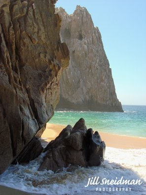 Jill Sneidman: 'LOVERS BEACH', 2014 Color Photograph, Beach. Cabo San Lucas...