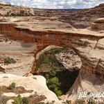 NATURAL BRIDGES NM By Jill Sneidman