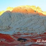 all white brain rock By Jill Sneidman