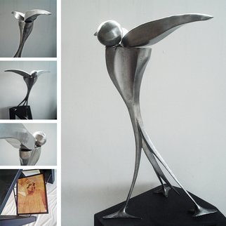 Juan Pablo Cima Artwork Asi te recuerdo, 2011 Steel Sculpture, Abstract