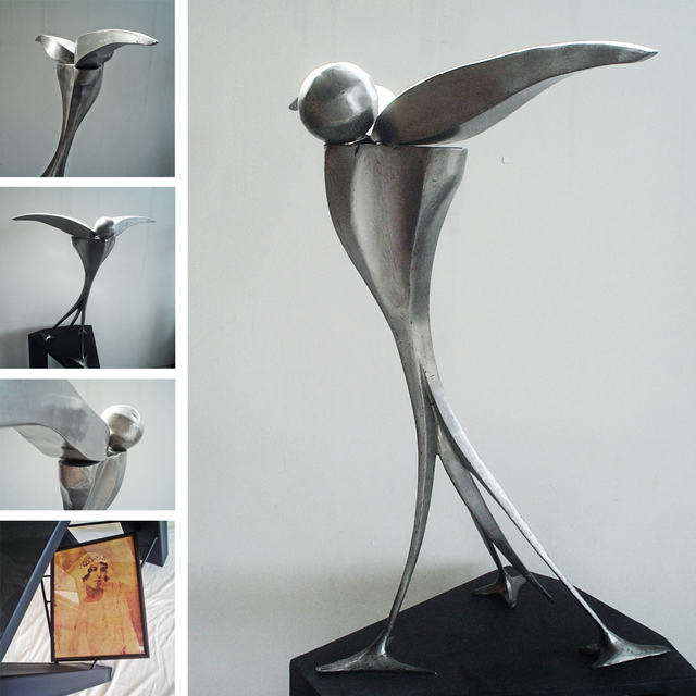 Artist Juan Pablo Cima. 'Asi Te Recuerdo' Artwork Image, Created in 2011, Original Sculpture Steel. #art #artist