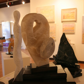 Julia Cake: 'Angelina Jolie and Zahara', 2008 Stone Sculpture, Abstract Figurative. Artist Description:  Angelina Jolie ...