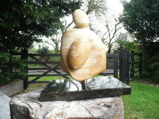 Stone Sculpture by Julia Cake titled: Mon Petit Fils, 2014