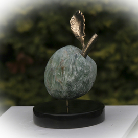 Julia Cake: 'The Apple', 2009 Mixed Media Sculpture, Abstract Figurative.