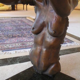 Julia Cake: 'l envole', 2005 Sculpture, Body. Artist Description: International Women s Day 2018, l envole, bronze sculpture, julia cake, ...