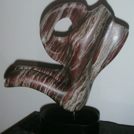 Julia Cake: 'signature', 2004 Marble Sculpture, Abstract Figurative. Artist Description: Signature  J. C.  ...