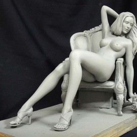 Joy And Willy Danaipitak Artwork Rosemary, 2014 Bronze Sculpture, Nudes
