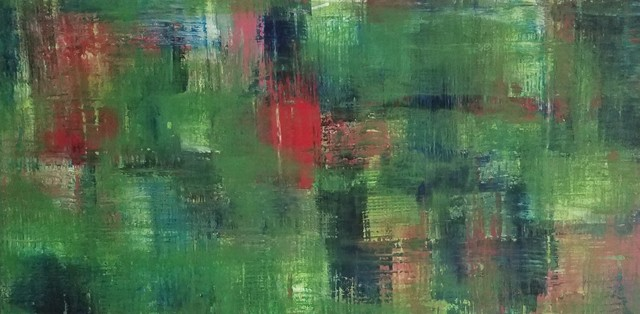 Jim Wildman  'Green Country', created in 2018, Original Painting Oil.
