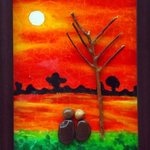 couple watching sunrises By Jyothi Chinnapa Reddy