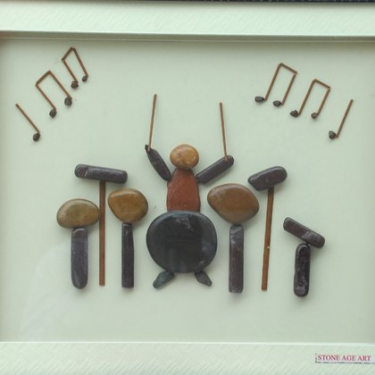 , A Musician, Abstract, $6,825