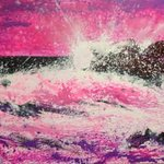 sea in pink By Anastasiya Kachina