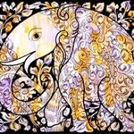 Tree of life in elephant By Kailasam Theerdham