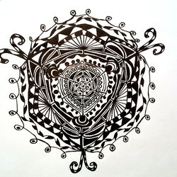 , Birth Of A Mandala, Mandala, $36