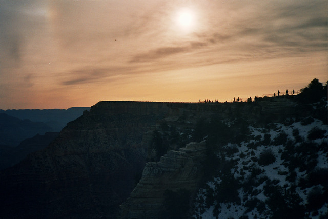 Keith Gray: southern rim, 2011 Color Photograph