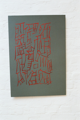 Undefined Medium by Keith Gray titled: talisman, 1983