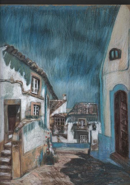 Elzbieta Kamienska  'Greece', created in 2017, Original Pastel.