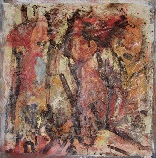 Hans-ruedi Kammermann Artwork lifes dance academy, 2011 Oil Painting, Gestalt