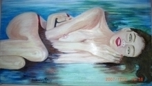 - artwork aegean_girl_aegean_sea-1225919811.jpg - 2008, Painting Oil, Figurative