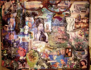 Collage by Kanika Marshall titled: Renovation of Spirit, created in 1998