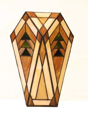 Hana Kasakova Artwork 'Crystal', 2010. Stained Glass. Geometric. Artist Description: Vase made by Tiffany technique from flat art glass. Vase made by Tiffany technique from flat art glass. ......