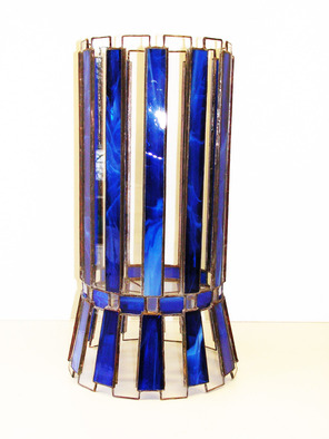 Hana Kasakova Artwork 'Curiosity', 2014. Stained Glass. Geometric. Artist Description: Vase made & # 8203; & # 8203; of transparent colored glass. ......