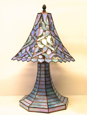Hana Kasakova Artwork Lamp Richelie, 2008 Stained Glass, Romance