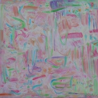 Artist: Kathryn Arnold - Title: Small Pastel Field - Medium: Oil Painting - Year: 2014
