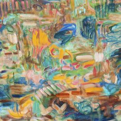 , Out And About, Abstract, $2,625