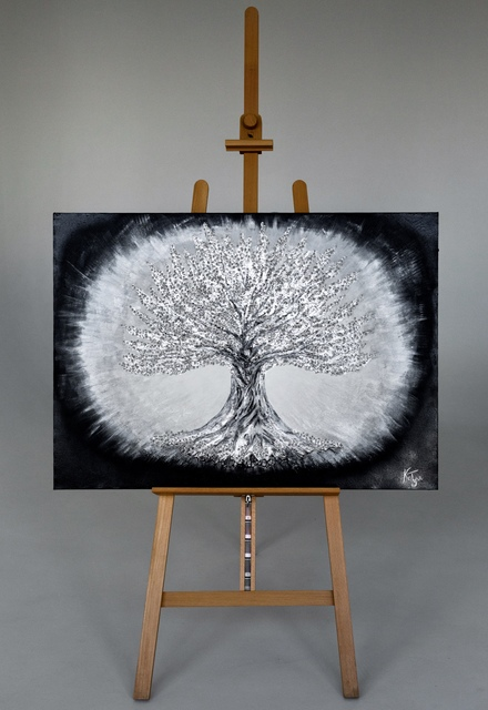Kristina  Tyshkovskaya  'Tree Of Life', created in 2013, Original Painting Acrylic.
