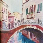 Canal in Venice No 5 By Natalia Kavolina