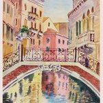bridge in venice no 24 By Natalia Kavolina