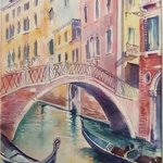 bridge in venice no 4 By Natalia Kavolina
