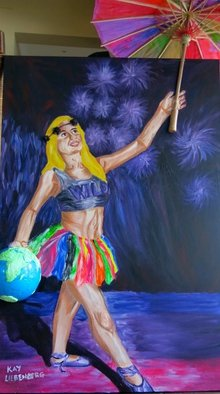 Kay Liebenberg Artwork Libra Of Life, 2014 Mixed Media, Circus