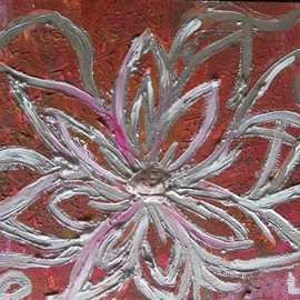 Silver Flower 01 By Kay Liebenberg