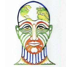 - artwork Earth_Man-1327202494.jpg - 2008, Paper, Figurative