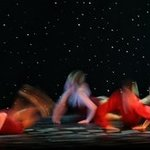 Dancers in Motion II By Kristine Caroppoli