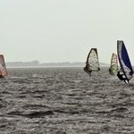 Wind Surfers I By Kristine Caroppoli