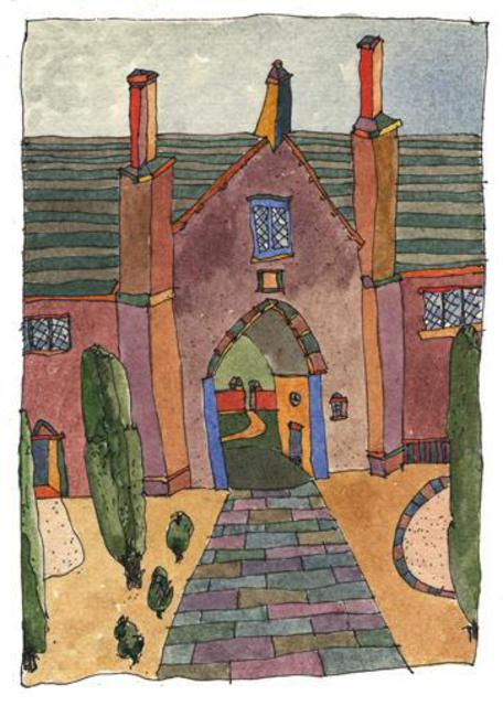 Keith Wilson  'Sissinghurst Kent', created in 2005, Original Printmaking Giclee.