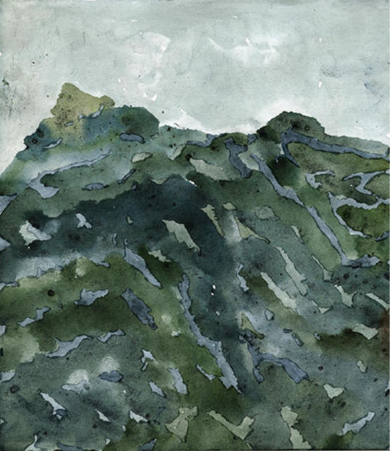 Keith Wilson  'WicklowMts', created in 2003, Original Printmaking Giclee.