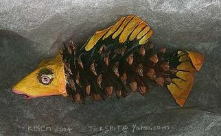 Undefined Medium by L. Kelen titled: fish, created in 2003