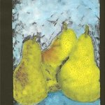 Three Pears By Kelly Parker