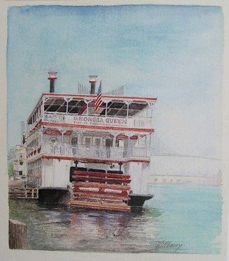 Artist: Ken Hillberry - Title: Georgia Queen - Medium: Watercolor - Year: 2001