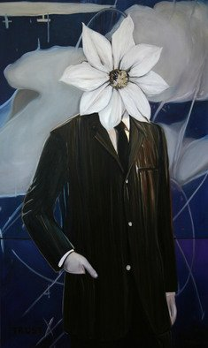 Kenn Zeromski: 'The Politician', 2007 Oil Painting, Surrealism.  The Politition - 60 x 36 oil on canvas      ...