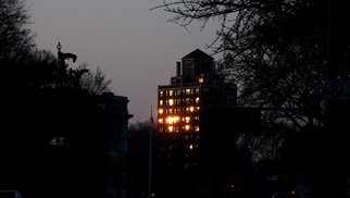 Artist: Kerwin Williamson - Title: A little bit of golden light - Medium: Color Photograph - Year: 2011