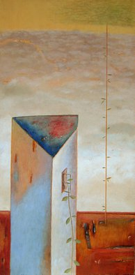 Artist: Kestutis Jauniskis - Title: Feeling Of Space 1 - Medium: Oil Painting - Year: 2013